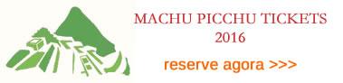 2016 Machu Picchu Tickets