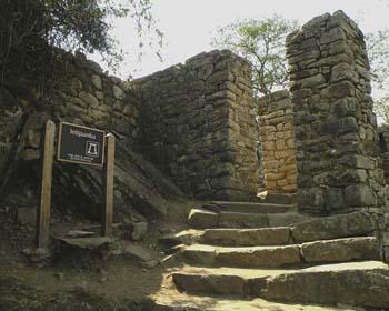 Intipunku ou Porta do Sol em Machu Picchu