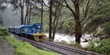 O que leva para chegar a Machu Picchu de trem?