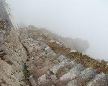 Huayna Picchu: As escadas da morte