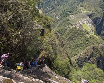 Huayna Picchu Montanha é realmente perigoso?