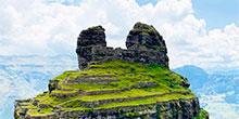 Waqrapukara, a fortaleza inca em forma de chifre