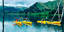 Lagoa Piuray em Cusco