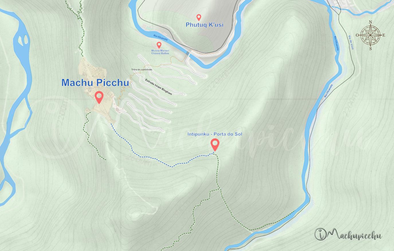 Rota Intipunku - Machu Picchu